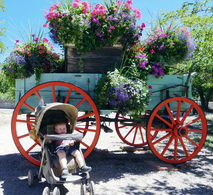 Flower Wagon at Heritage Park